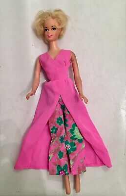 Vintage Barbie Pink Dress And Psychedelic Pants