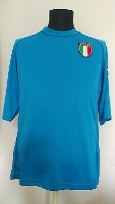 5aba8809fed Italy 2000/2002 Home Football Jersey Rare Kappa Blue Soccer Italia Shirt  Size XL