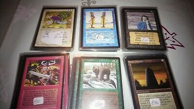 mtg 54 BETA part set lot - a very one off sale of beta cards