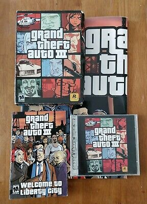 Grand Theft Auto III PC Games Windows 10 8 7 XP Computer GTA 3 action shooter