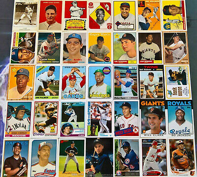 2019 TOPPS SERIES 2 ICONIC CARD REPRINTS Insert - You Pick - Complete Your Set