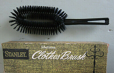 Vintage Original Stanley Clothes Brush #3046 with Box and Certificate NOS