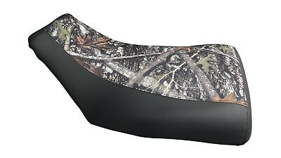 HONDA TRX450FM FOREMAN Seat Cover in 2-TONE Hornz Camo /& Black or 25 Colors ST
