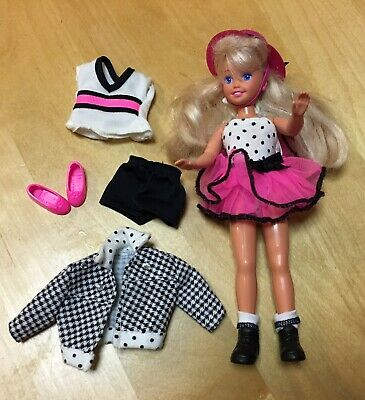 Vintage 1990s Barbie Sister Stacie Party 'n' Play With Original Clothes