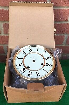 """New Hermle Metamec 8 Day Clock Movement Works West Germany  6"""" 15cm Dial Face"""