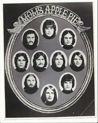 Mom's Apple Pie Photo Vintage Promo Rock Group Band Bob Fiorino Famous Banned Lp