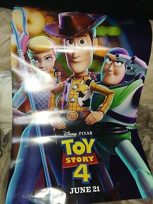 Toy Story 4 - original DS movie poster 27x40 D/S FINAL - 2019 Pixar Style C