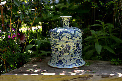 Rarest Chinese Bell-shaped Porcelain Cover - Ming Xuande  宣德 Mark