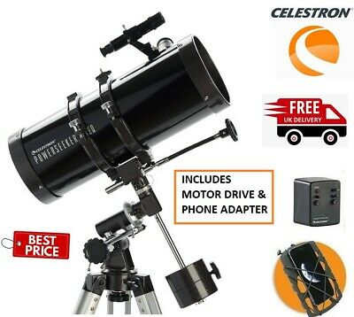 CELESTRON POWERSEEKER 127EQ-MD with Phone Adapter 22039 (UK Stock)