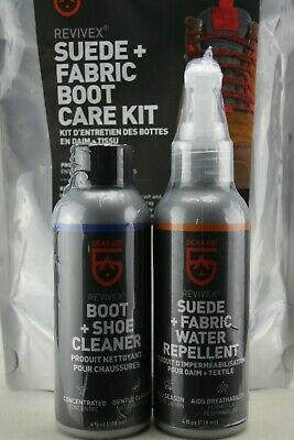 Gear Aid Revivex Suede and Fabric Boot Care Kit- MISSING BRUSH AND CLOTH