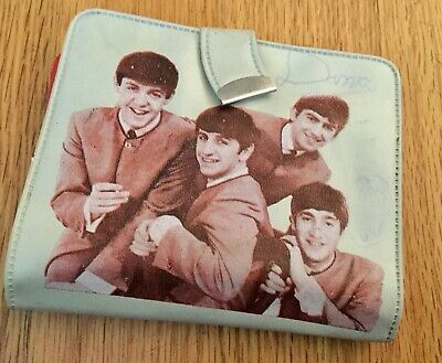 Thé Beatles Wallet - Original From the1960-Fab Four Signed  Pictures-Coin Purse