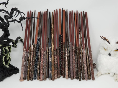 Harry Potter Wands - 10 Pack - Party Favor Wands - Each Magic Wand is Handmade