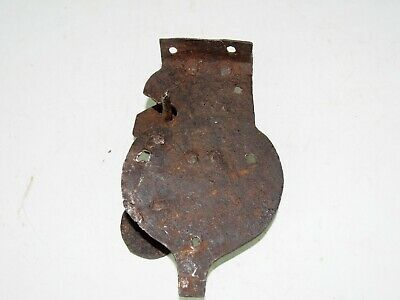SMALL DECORATIVE 18th/19th CENTURY FORGED/WROUGHT IRON LOCK