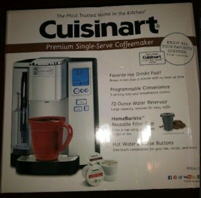 Cuisinart SS-10 Premium Single-Serve Programmable Coffeemaker, Stainless Steel