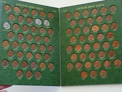 Lincoln Head Cent Books 1941-1972-S  Pds Pennie Album