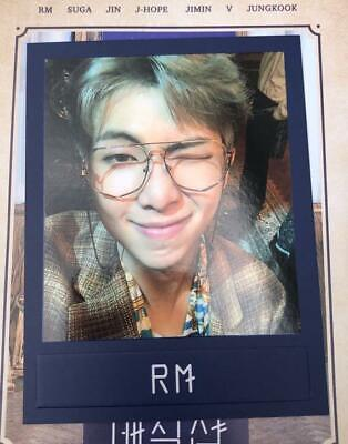 BTS MAGIC SHOP RM official Mood Light photocard Army Fanmeeting 5th muster