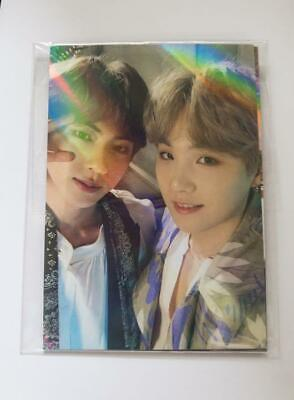 BTS MAGIC SHOP official ticket holder photocard 5th muster fanmeeting JIN SUGA