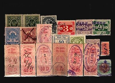 Europe 20 Mostly Used Revenues, some faults - C1477