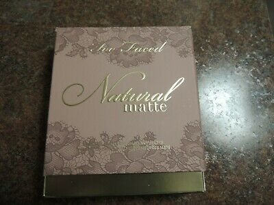 Too Faced Natural Ultimate Neutral Eye Shadow Palette NIB