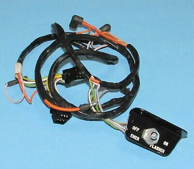 NOS 1966 Ford Mustang Galaxie Hazard Flasher Switch w/ Harness