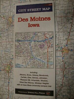 1976-77 IOWA STATE-ISSUED Vintage Road Map - $9 99 | PicClick