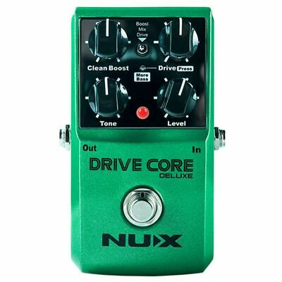 3X(NUX Upgraded Drive Core Deluxe Overdrive Guitar effects Blues Overdrive G9U3)