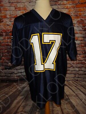 75ef8161 PHILIP RIVERS #17 Los Angeles Chargers Men's Color Rush Blue Jersey ...