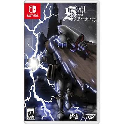 Salt and Sanctuary Drowned Tome Edition (Nintendo Switch, 2018) Brand New Sealed