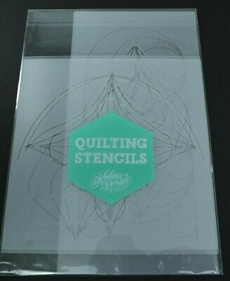 Quilting Stencils Acrylic Templates Lot Set of 5 Karlee Porter Design NEW