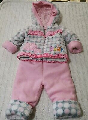 000 Baby Girls Winter Suit