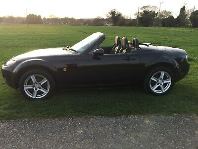 Mazda mx5 5 Speed 1798cc convertible roadster soft/hard top 2007 65000 miles