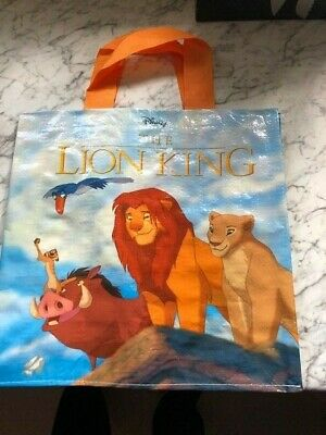 Disney Lion King Tote Plastic Tesco Shopping Bags for Life NEW for 2019