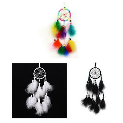 Indian Handmade Chic Feather Dream Catcher Wall Hanging Car Home Decoration