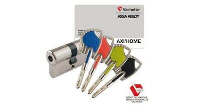 cylindre vachette axi home 30x40 assa abloy