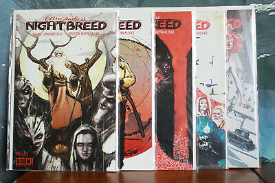 Clive Barkers Nightbreed comic series issues 1-5 Boom Comics 2014