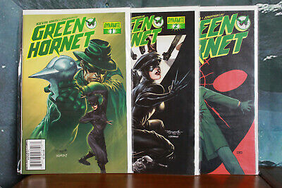 Kevin Smiths Green Hornet Comic series issues 1-3 Dynamite Comics 2010