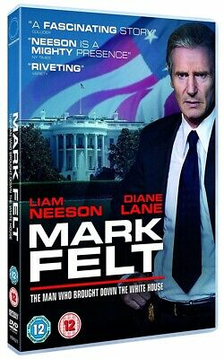 Mark Felt The Man Who Brought Down The White House DVD New 2017 Liam Neeson