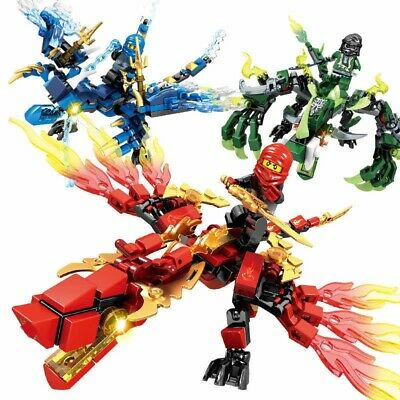 Feuer Drache Big Set Blocks Wie Ninja Turtles Lego Ninjago