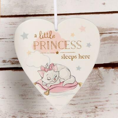 Disney Little Princess Sleeps Marie pendant Plaque Magical Débuts Cadeau Bébé