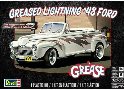 Revell Monogram 4443 Greased Lightning 1948 Ford Conv plastic model kit 1/25