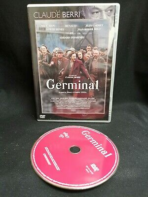 Germinal DVD Very Good Condition FRENCH LANGUAGE ONLY NO ENGLISH