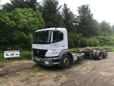 Mercedes 2528 6x2 chassis Cab With Rear Lift & Steer Year 2005