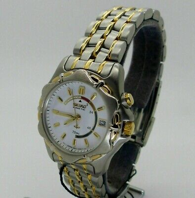 seiko kinetic watch skh054p 3m22-0c80