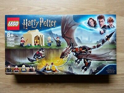 Coffret LEGO Harry Potter Dragon Triwizard 4 figurines – JEU NEUF