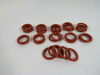 Able Seal 2-318S700-FDA Silicon O-Ring 24.77mm ID 35.43mm OD Lot of 30 ! WOW !