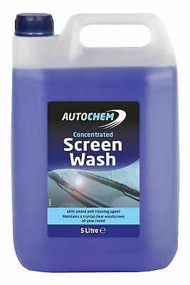 Autocare Concentrated Screenwash 5L All Season with Added Antifreeze