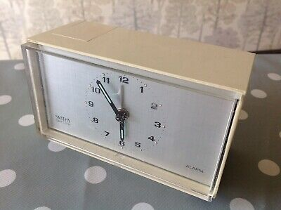 Vintage Smiths Alarm Clock Battery Movement Electric Tested And Working