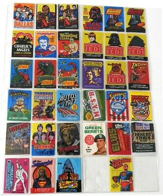1966-1992 ~ Non-Sports Wrappers ~ Green Berets, Superman, Autos Of 1977, Elvis