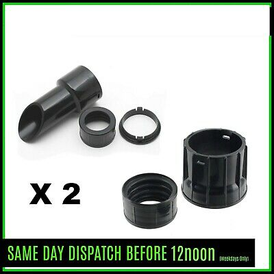 2x38mm Hose cuff  & End Nozzle Numatic INDUSTRIAL hoover WV570 WV750 WV900 A4390