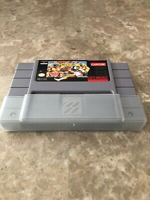 Street Fighter II Turbo SNES Super Nintendo Game Great Condition With Dust Cover